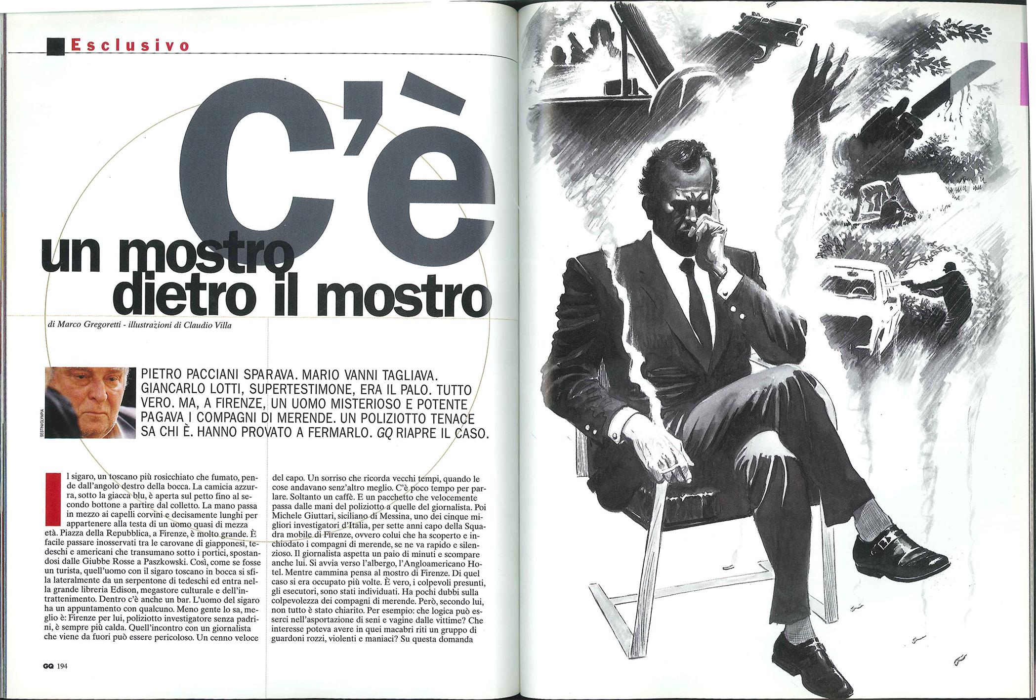 Mostro di Firenze GQ pag1