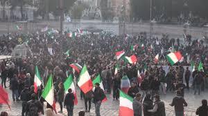 Forconi a Roma il 18 dicembre 2013