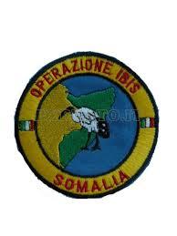 Il logo della missione di pace Ibis