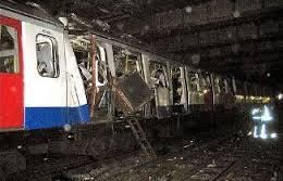 Londra 7 luglio 2005. Attentati in metropolitana