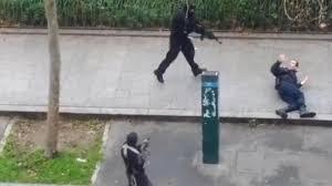 Charlie Hebdo. Uccisione del poliziotto