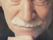 Giorgio Almirante, fondatore del Movimento sociale italiano