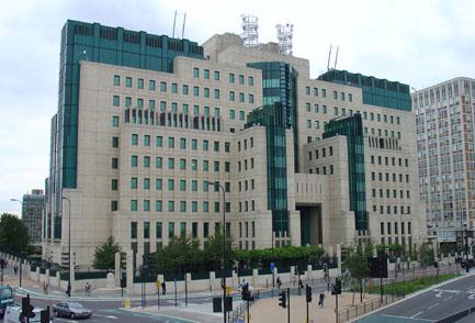 Il Palazzo dei servizi segreti inglesi