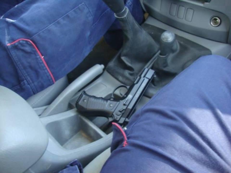 La pistola che Fausto Piano aveva sempre con se'