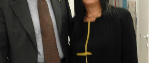 Gianfranco Fini  e  Maria Antonietta Cannizzaro