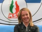 Giorgia Meloni.  Presidente di Fratelli d'Italia